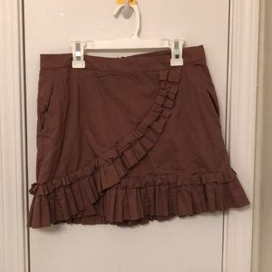 BCBG brown skirt